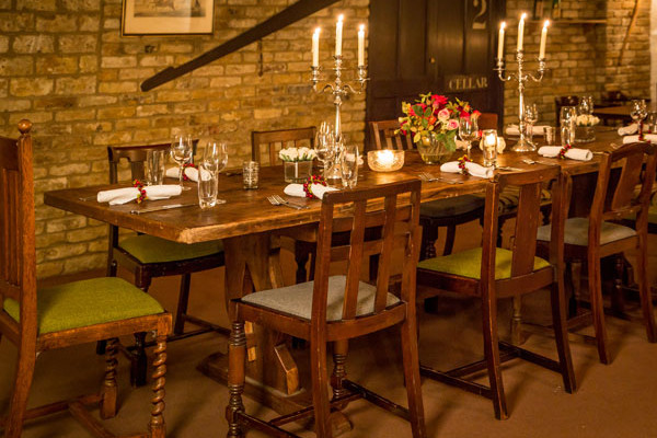 Room for private event at Cooperage