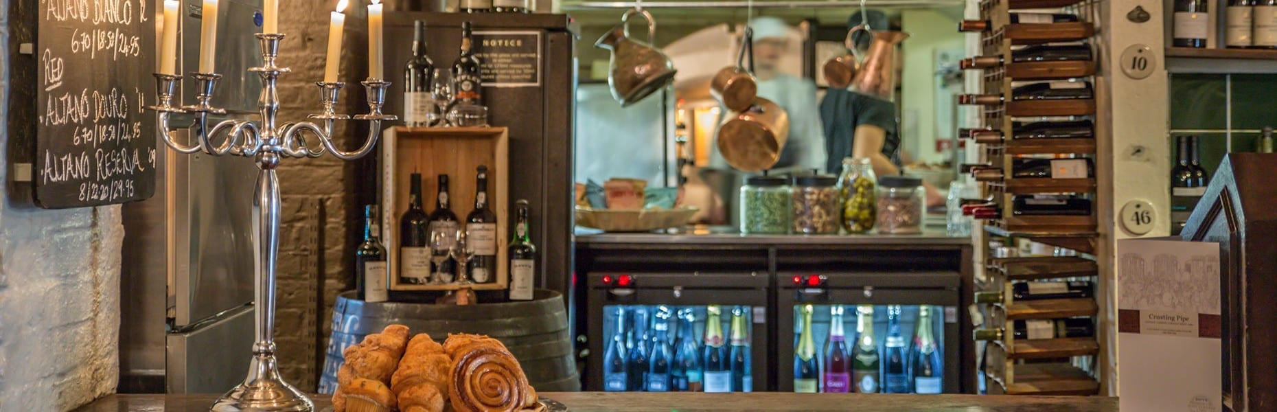 Crusting Pipe bar, Covent Garden