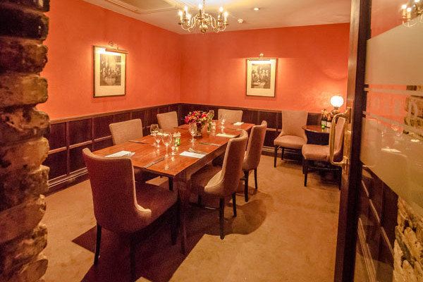 The Habit - private dining room