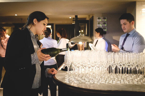 Wine tasting event at Davys of Holborn