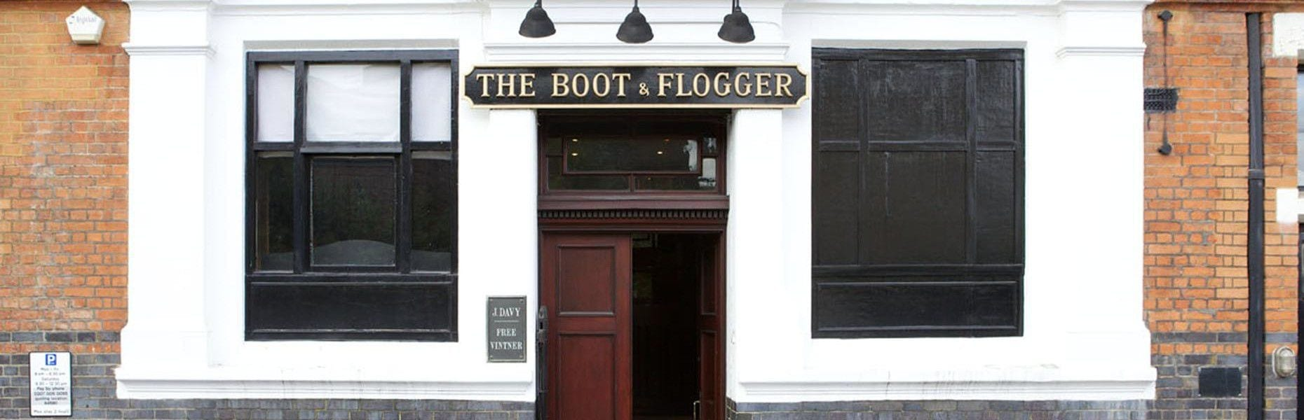 Boot & Flogger entrance