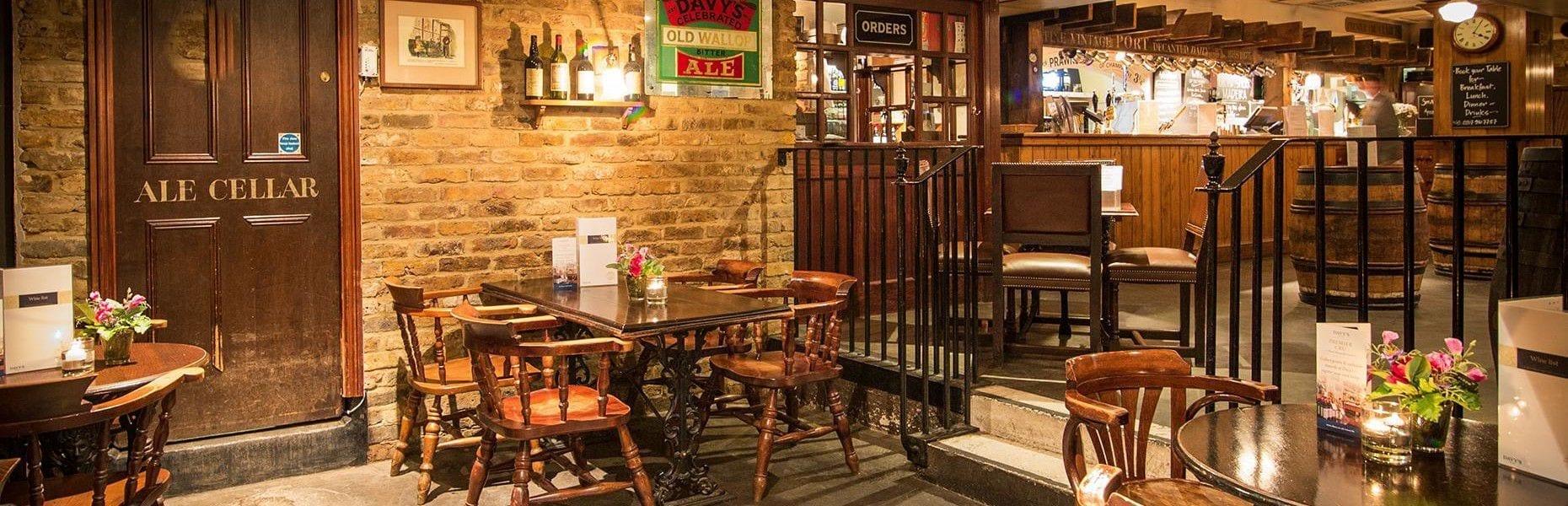 Champagne Charlie's bar