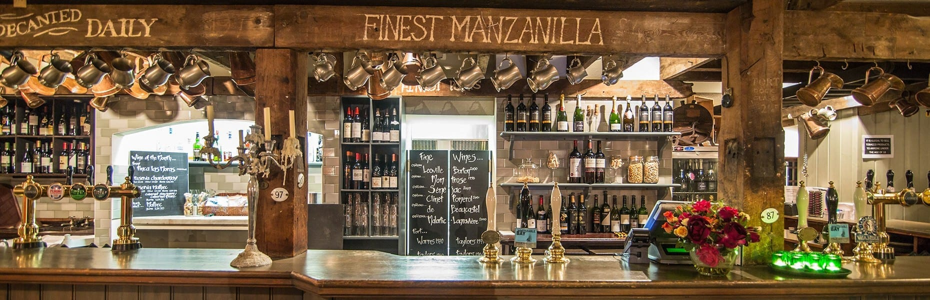 Bar at Bangers