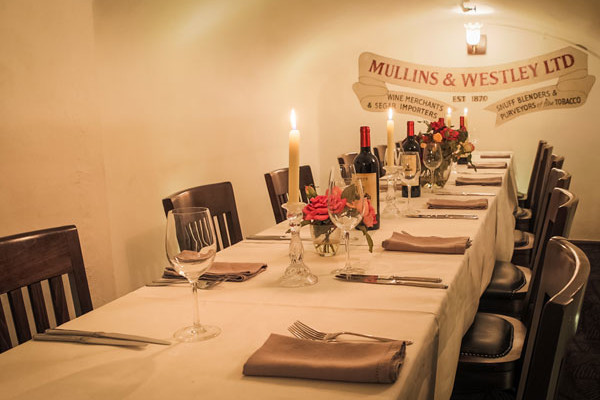 Room for private event at Crusting Pipe