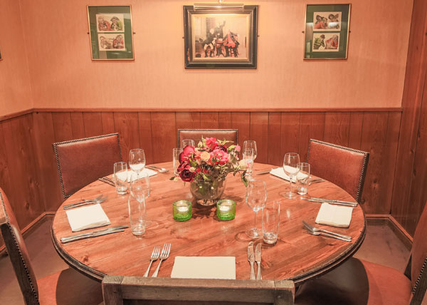 Davy's Wine Vaults, semi private dining