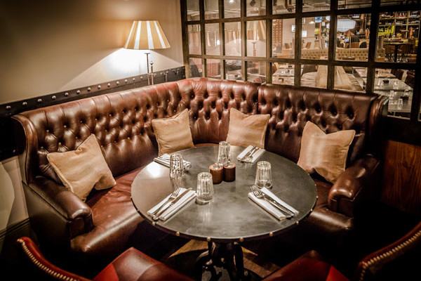 Factory House semi private dining