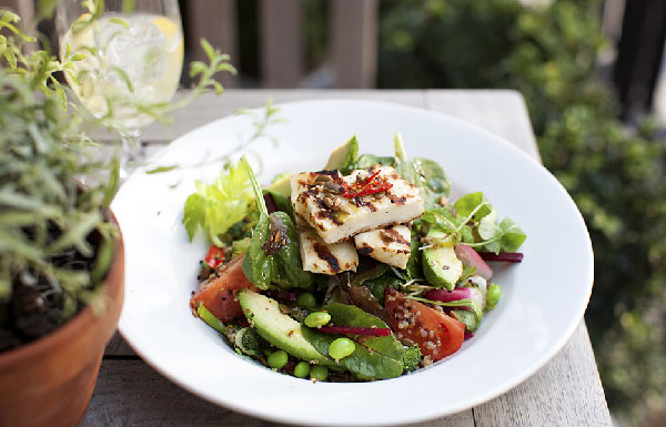 Davy's Wine Bars fresh summer salad