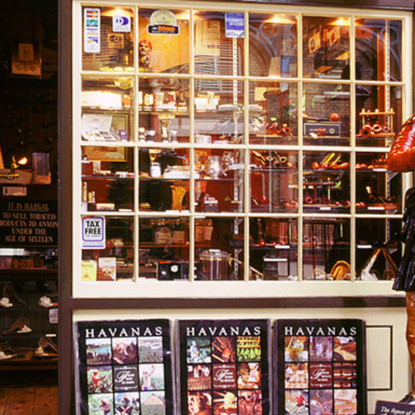 Specialist tobacconist Segar and Snuff in Covent Garden