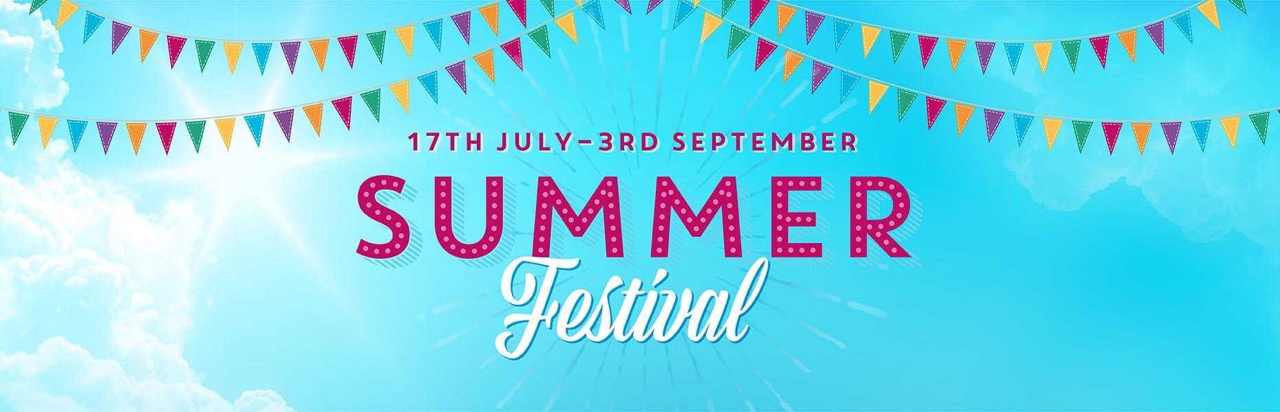 Davys Summer Festival web banner
