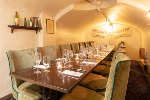 Crusting Pipe Millins & Westley Dining Room
