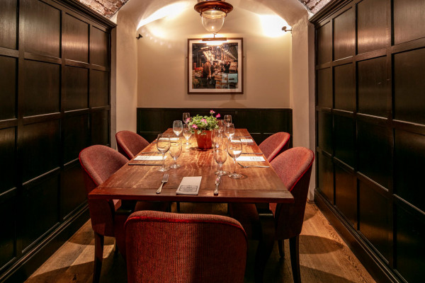 Crusting Pipe Private Dining Room